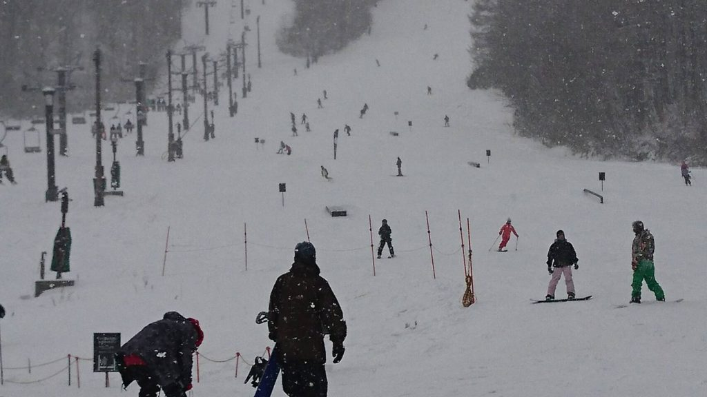 12月15日猫魔スキー場パーク