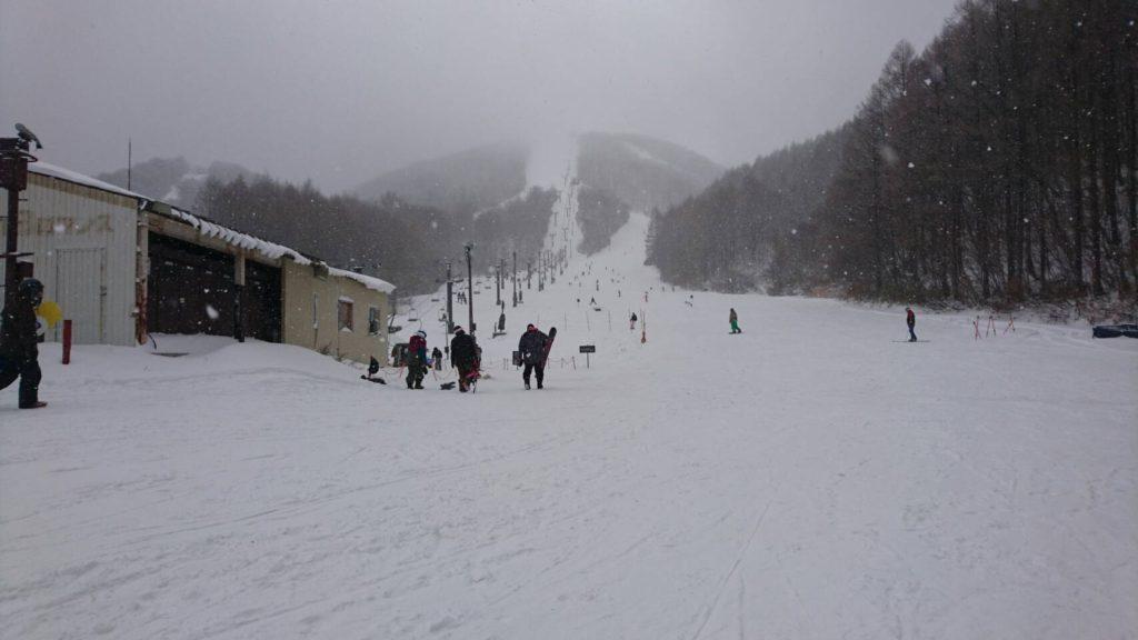 猫魔スキー場 雄国B線