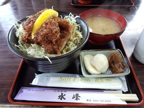 天文台のあるペンション カレワラ 水峰さんのソースカツ丼ミニ