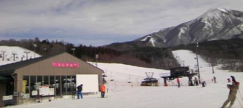 アルツ磐梯スキー場3月