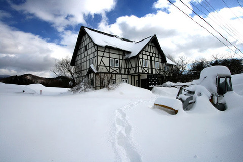 裏磐梯積雪110118_1