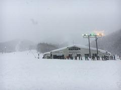 裏磐梯猫魔スキー場 トリプルリフト
