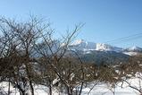 冬の磐梯山(五色沼より)